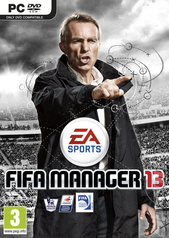 FIFA Manager 13 - PC Cover & Box Art