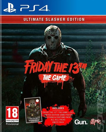 Friday The 13th: The Game - PS4 Cover & Box Art