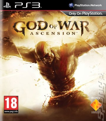 God of War: Ascension - PS3 Cover & Box Art