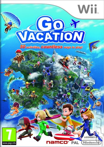 Go Vacation - Wii Cover & Box Art
