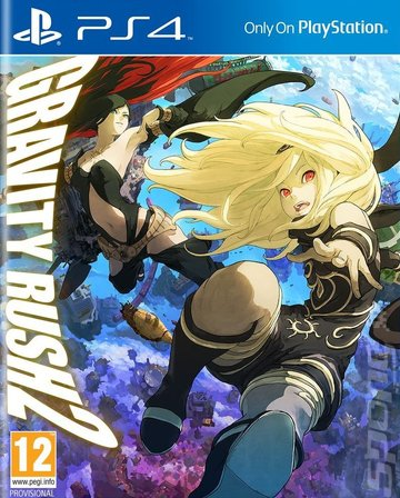 Image result for Gravity Rush PS4 boxart