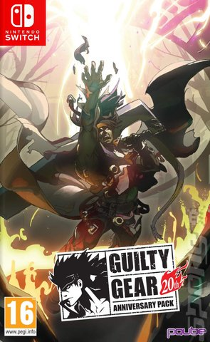 Guilty Gear 20th Anniversary Edition - Switch Cover & Box Art