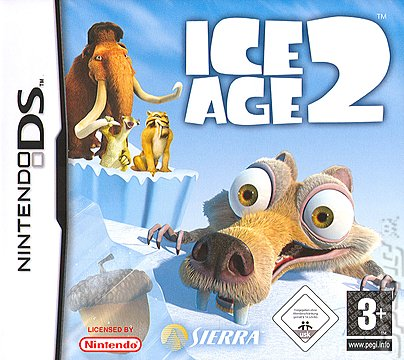 Ice Age 2: The Meltdown - DS/DSi Cover & Box Art
