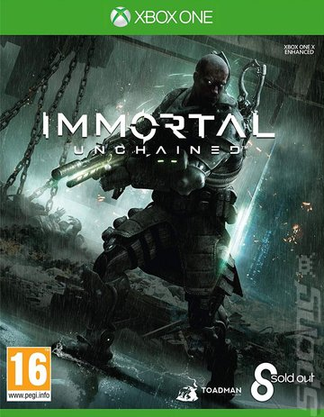 Immortal: Unchained - Xbox One Cover & Box Art