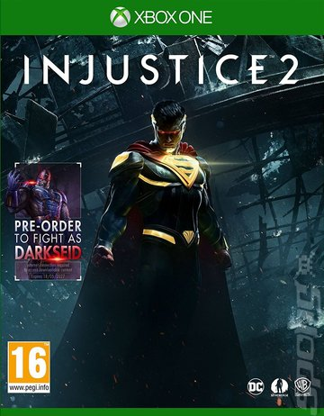 Injustice 2 - Xbox One Cover & Box Art