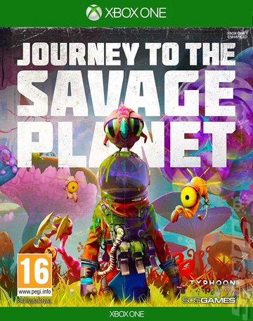 Journey To The Savage Planet - Xbox One Cover & Box Art