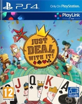 Just Deal With It - PS4 Cover & Box Art