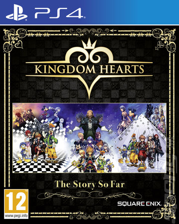 Kingdom Hearts: The Story So Far - PS4 Cover & Box Art