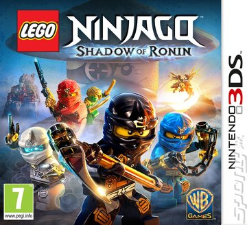 LEGO Ninjago: Shadow of Ronin - 3DS/2DS Cover & Box Art