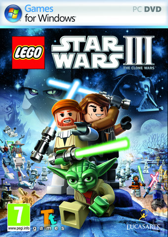 LEGO Star Wars III: The Clone Wars - PC Cover & Box Art
