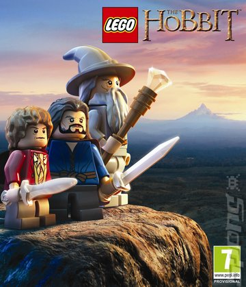 LEGO The Hobbit - Xbox 360 Cover & Box Art