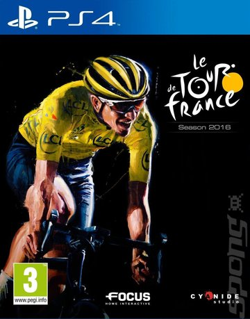 le Tour de France 2016 - PS4 Cover & Box Art