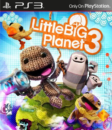 LittleBigPlanet 3 - PS3 Cover & Box Art