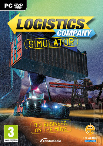 Logistic Company Simulator - PC Cover & Box Art
