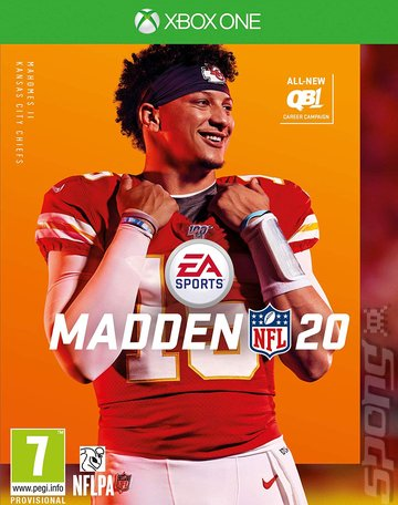 Madden NFL 20 - Xbox One Cover & Box Art