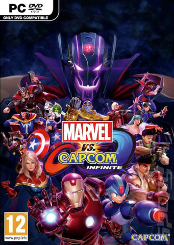Marvel vs. Capcom: Infinite - PC Cover & Box Art