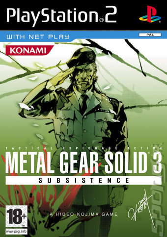 covers amp box art metal gear solid 3 subsistence ps2 2