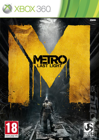 Metro: Last Light - Xbox 360 Cover & Box Art