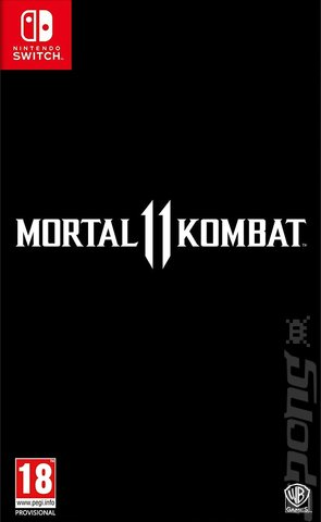Mortal Kombat 11 - Switch Cover & Box Art