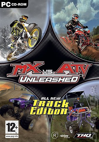 MX Vs. ATV Unleashed - PC Cover & Box Art
