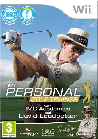 My Personal Golf Trainer with David Leadbetter and IMG - Wii Cover & Box Art