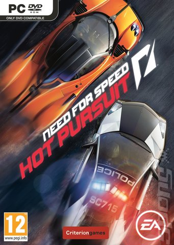 Need for Speed: Hot Pursuit - PC Cover & Box Art