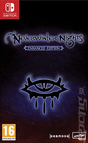 Neverwinter Nights: Enhanced Edition - Switch Cover & Box Art