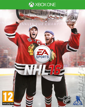 NHL 16 - Xbox One Cover & Box Art