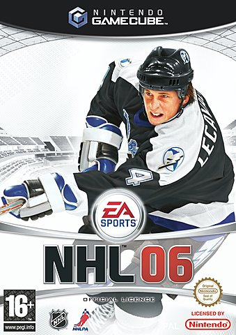 NHL 06 - GameCube Cover & Box Art