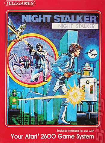 Night Stalker - Atari 2600/VCS Cover & Box Art