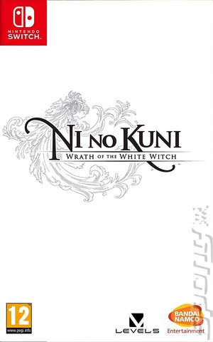 Ni No Kuni: The Wrath of the White Witch - Switch Cover & Box Art