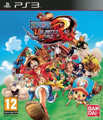 One Piece: Unlimited World: Red - PS3 Cover & Box Art