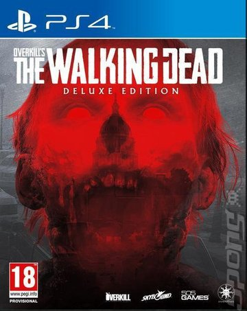 OVERKILL's The Walking Dead - PS4 Cover & Box Art