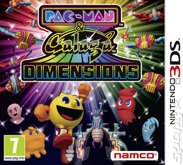 Pac Man and Galaga Dimensions [EUR 3DS]
