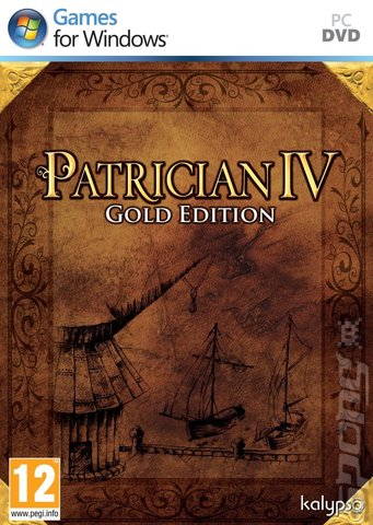Patrician IV Gold Edition - PC Cover & Box Art