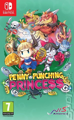 Penny-Punching Princess - Switch Cover & Box Art