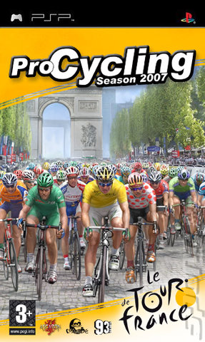 Pro Cycling Manager Season 2007 - PSP Cover & Box Art