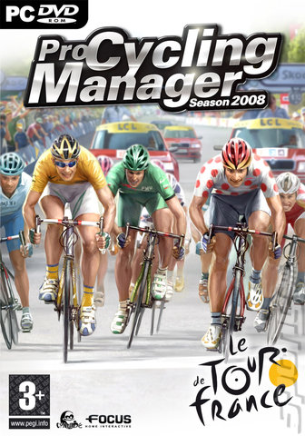 Pro Cycling Manager Season 2008 - PC Cover & Box Art