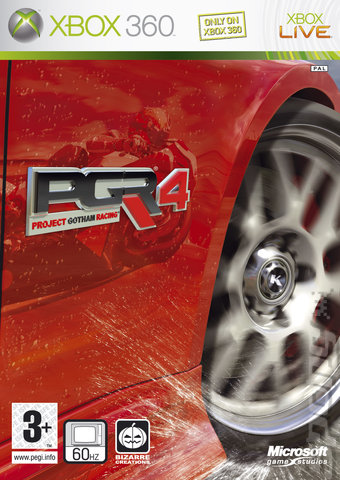 Project Gotham Racing 4 - Xbox 360 Cover & Box Art