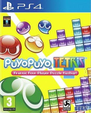 Puyo Puyo Tetris - PS4 Cover & Box Art