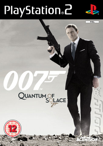 Quantum of Solace - PS2 Cover & Box Art