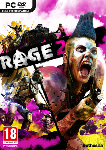 Rage 2 - PC Cover & Box Art