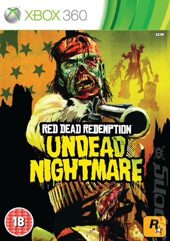 Red Dead Redemption: Undead Nightmare - Xbox 360 Cover & Box Art