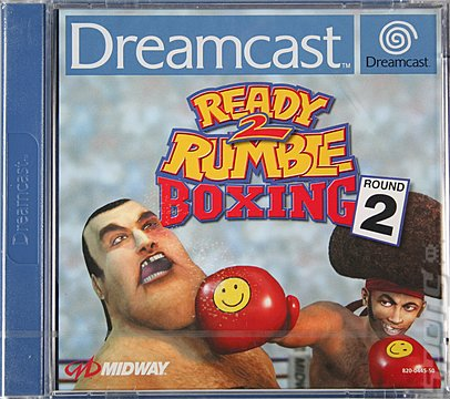 Ready 2 Rumble Boxing Round 2 - Dreamcast Cover & Box Art