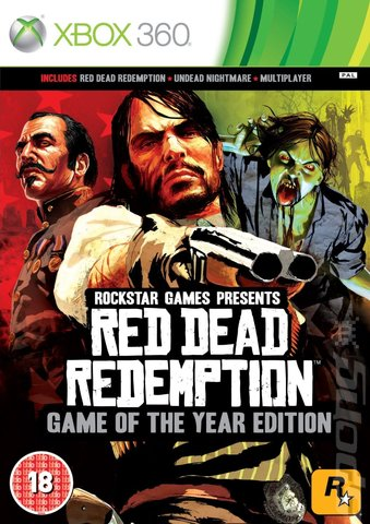 Red Dead Redemption: Game of the Year Edition - Xbox 360 Cover & Box Art