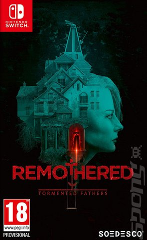 Remothered: Tormented Fathers - Switch Cover & Box Art