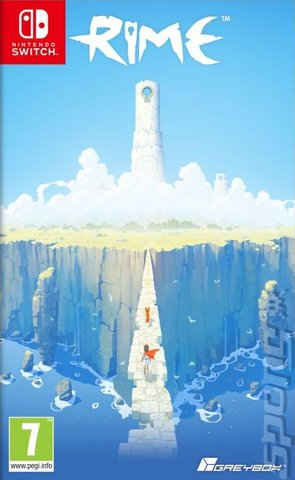 Rime on Nintendo Switch Editorial image