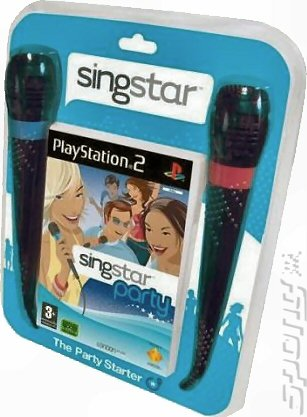 SingStar Party - PS2 Cover & Box Art
