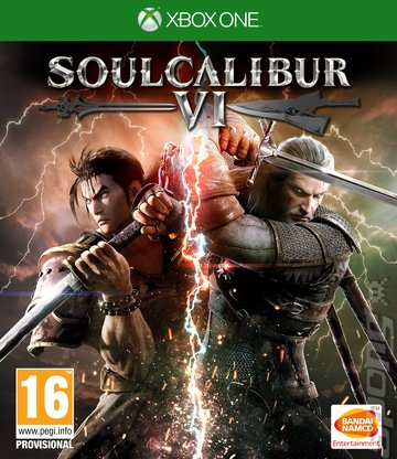 SOULCALIBUR VI - Xbox One Cover & Box Art