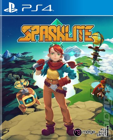 Sparklite - PS4 Cover & Box Art